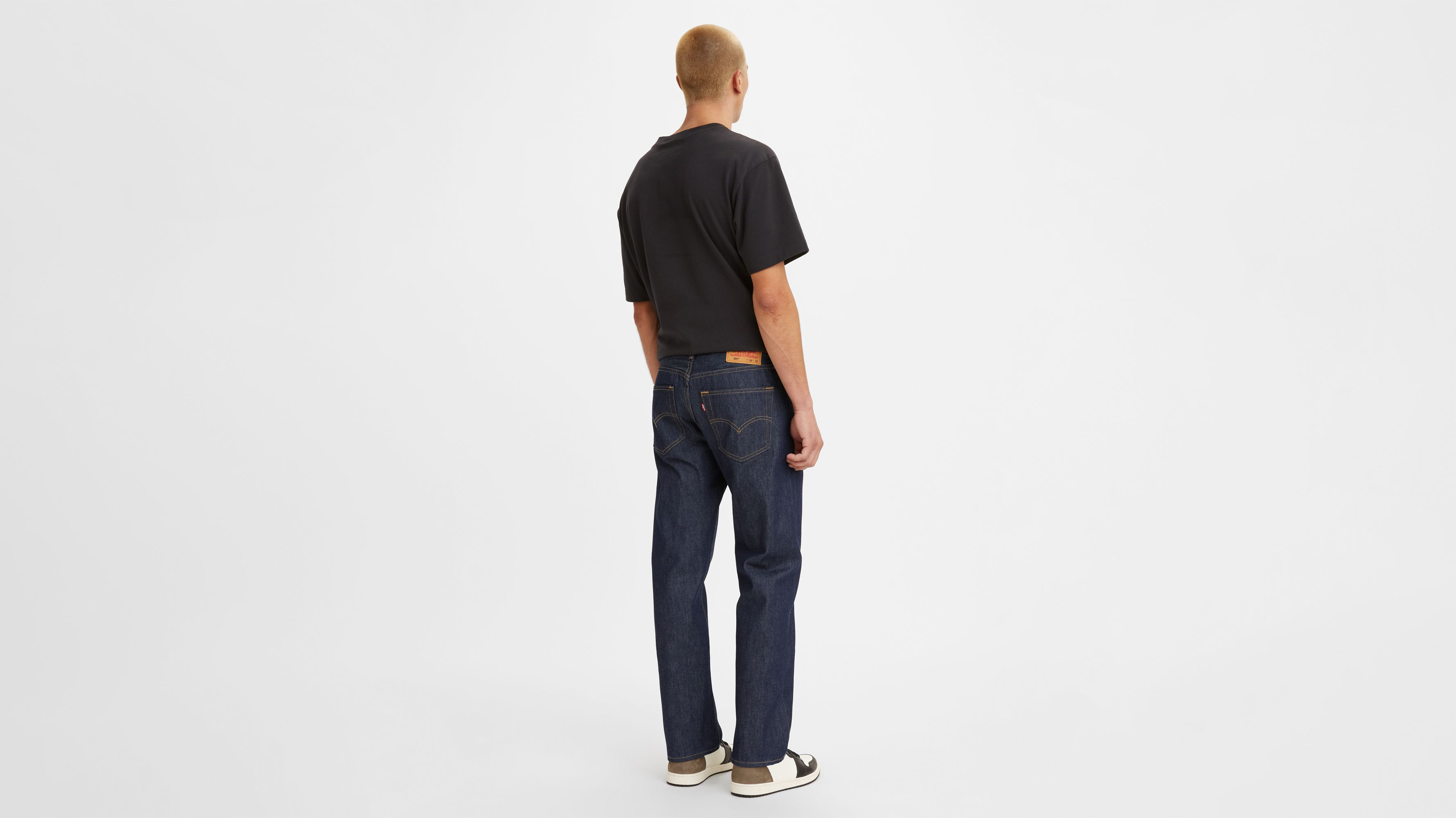 Mens Regular Fit Jeans Denim Trousers Pants With Free Belt All Waist Sizes 28-42