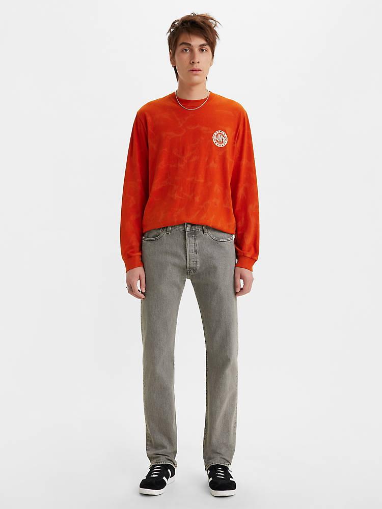 Levis 501 Original Fit Stretch Mens Jeans