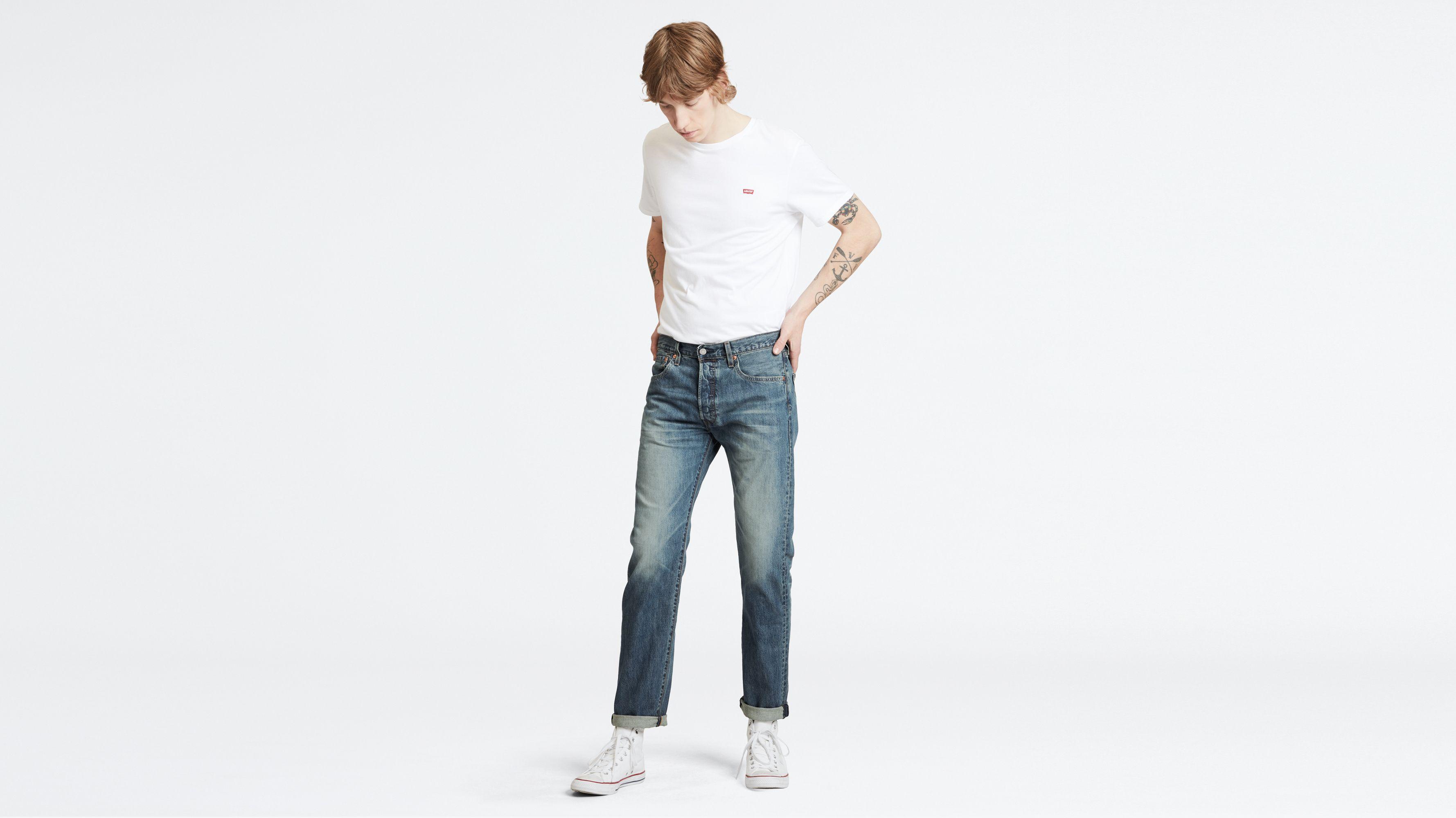 Levi's Herren 501 Kobori Stretch Extensible C & T Jeans