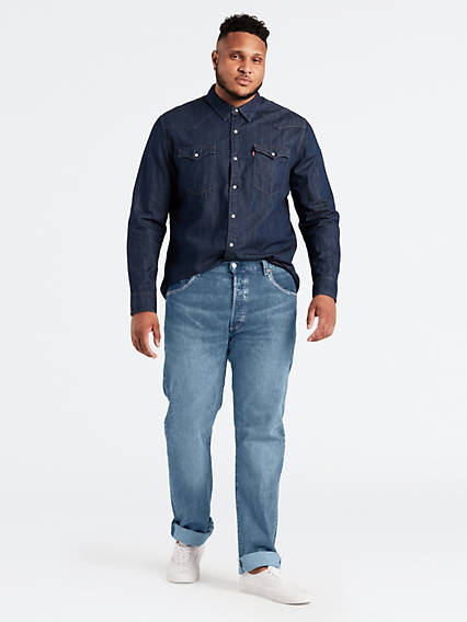 514™ Straight Jeans Advanced Stretch - Helle Waschung / The Moment | Bekleidung > Jeans > Straight Leg Jeans | Helle waschung|the moment | Baumwolle elastan | Levi's