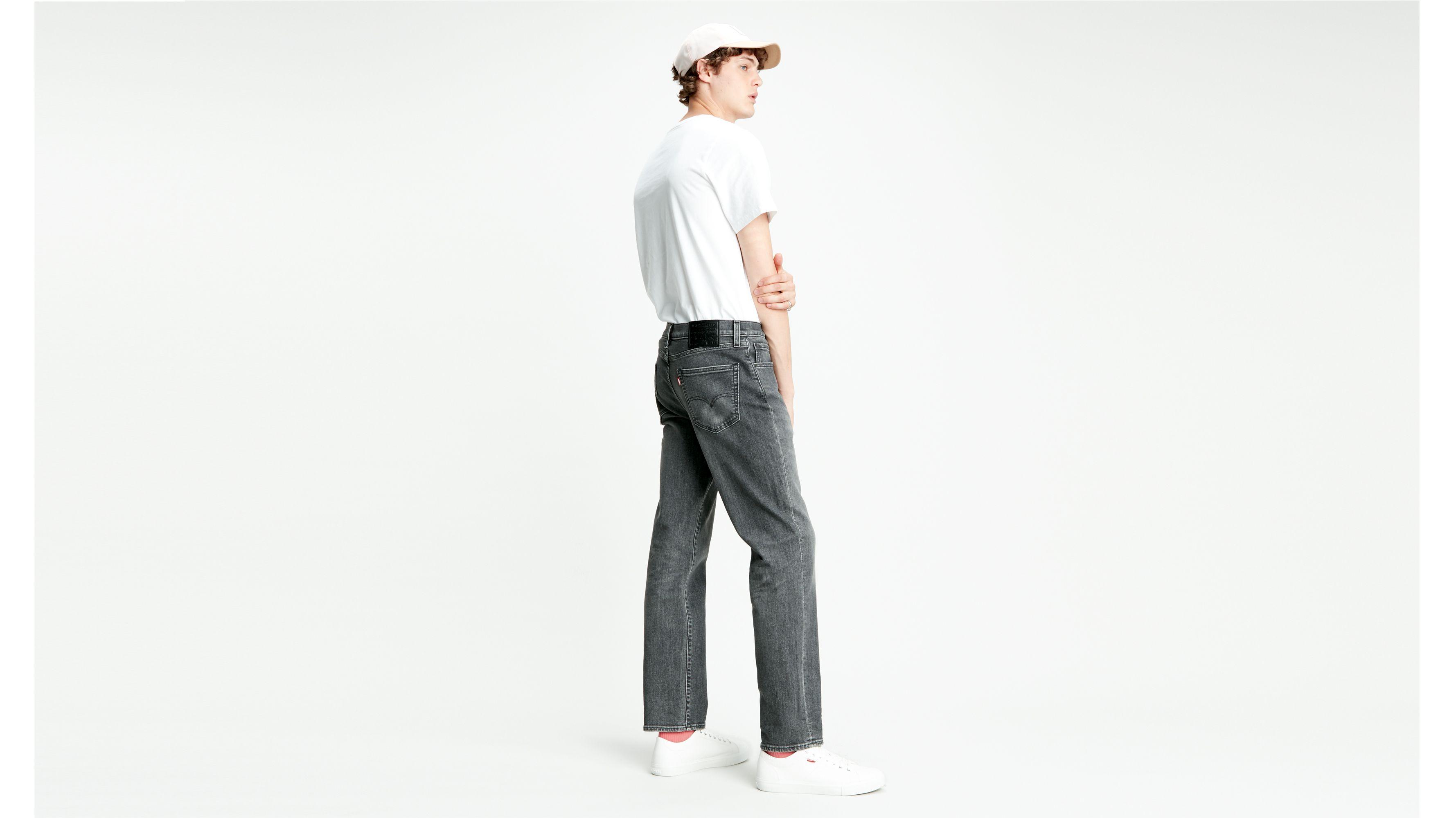 NUOVA linea uomo regular fit straight leg jeans denim Pantaloni Girovita Taglia 30 32 34 36 38