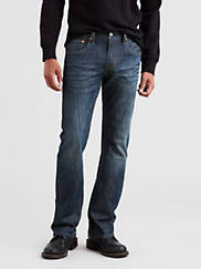 Levi's Men's Figure Four 527 Slim Bootcut Jeans (Andi - Dark Wash.)