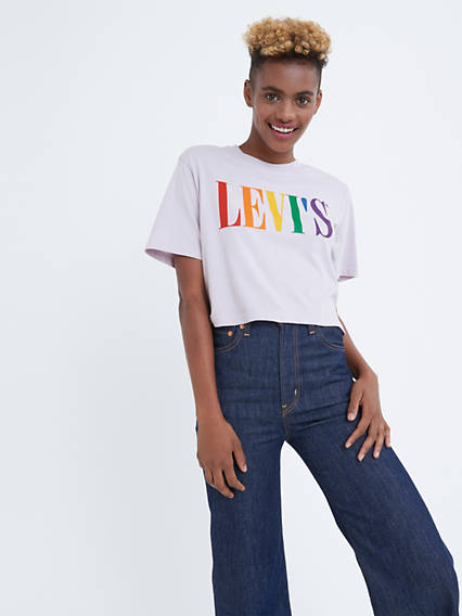 Levi's® Pride Community Cropped Tee