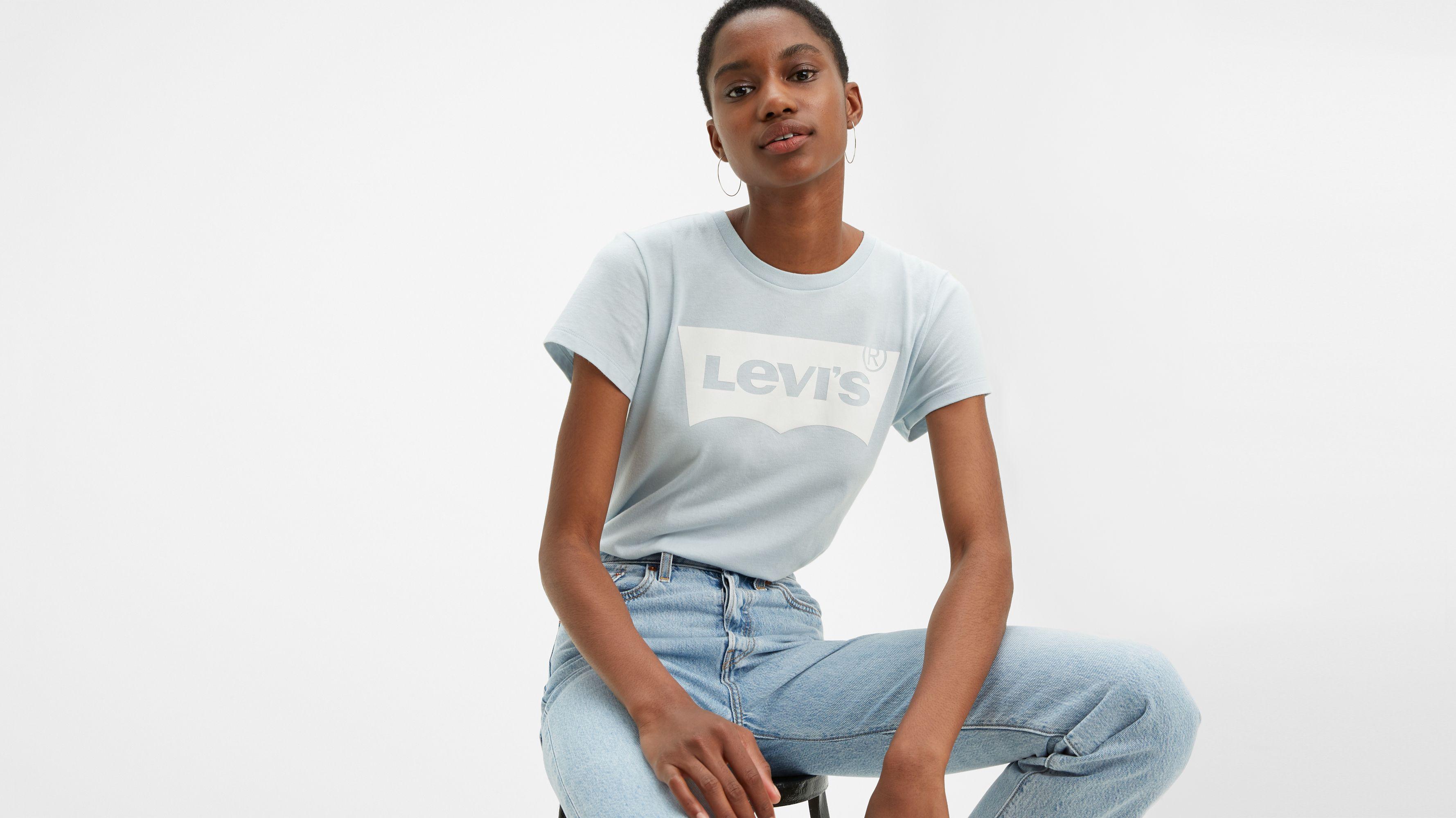 Levi's00ae Logo Perfect Graphic Tee Shirt