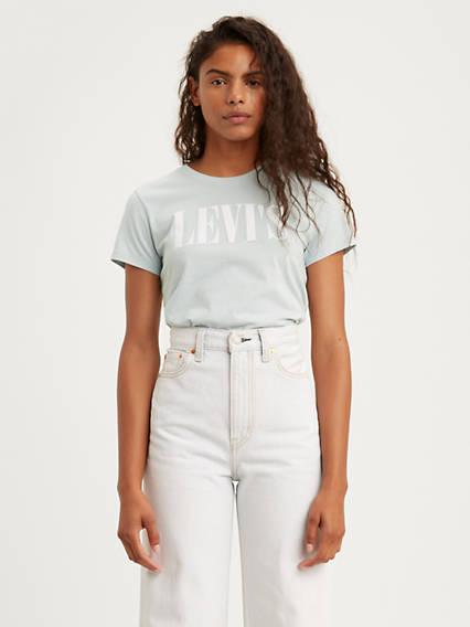 T-shirt graphique à logo années 90
