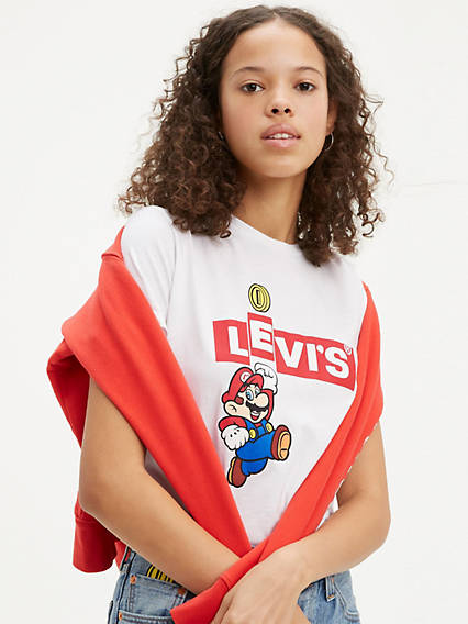 Levi's® x Super Mario The Perfect Tee