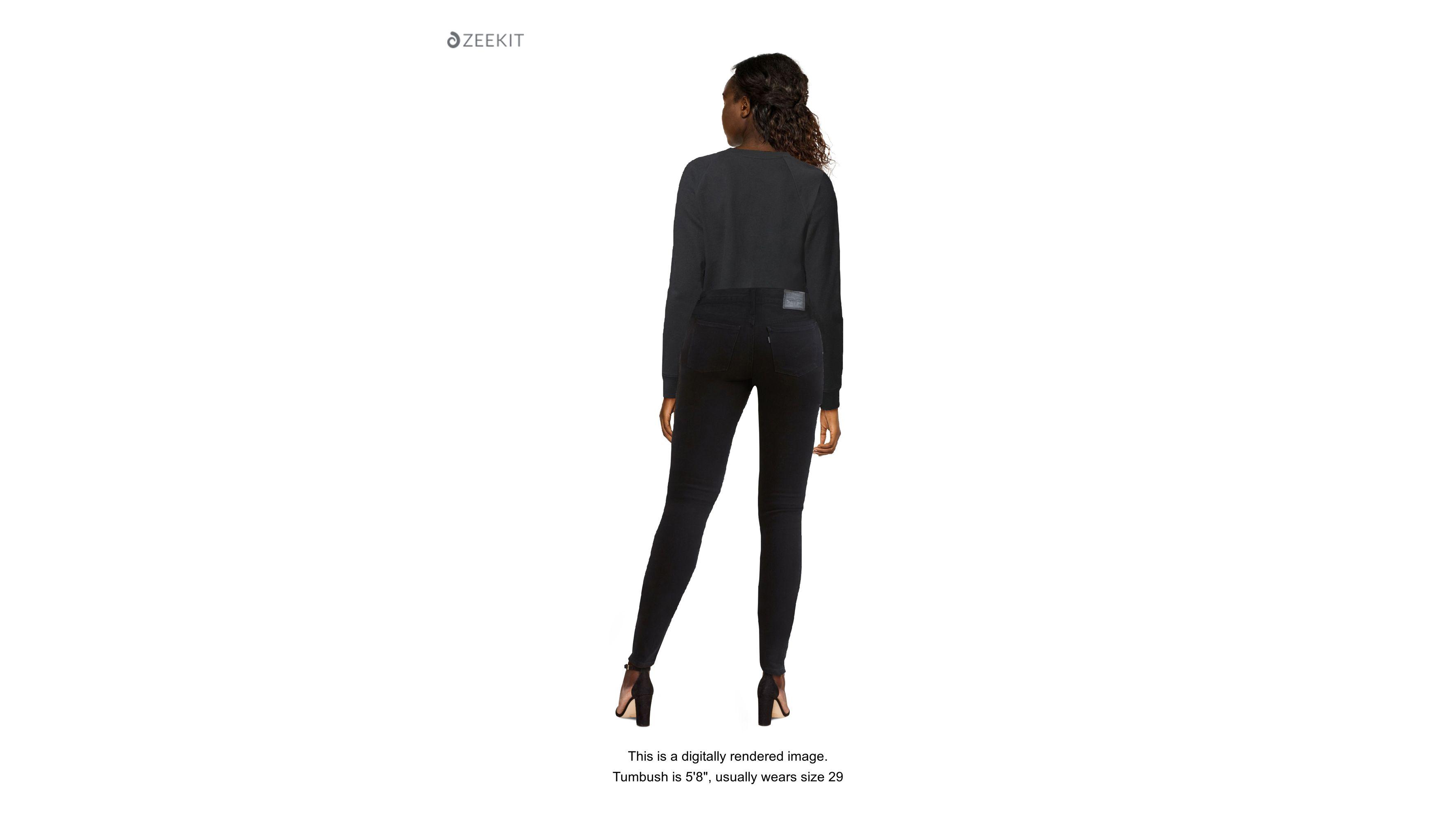 Levi's skinny jeans. Size women's W26 L32 Size 26!