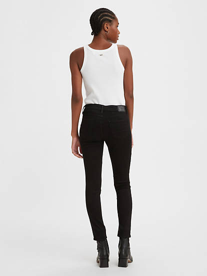 newest limpid in sight diverse styles 711 Skinny Women's Jeans - Black | Levi's® US
