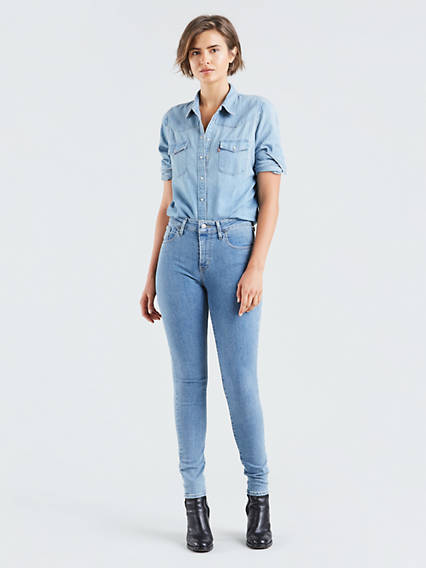 levi's - 721™ High Waisted Skinny Jeans - Blau / Out Of Touch