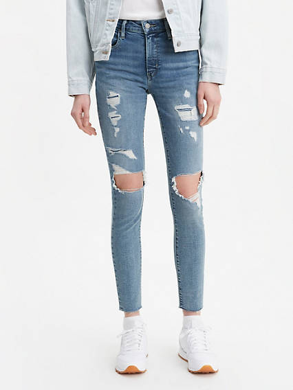 721 High Rise Ripped Skinny Women's Jeans