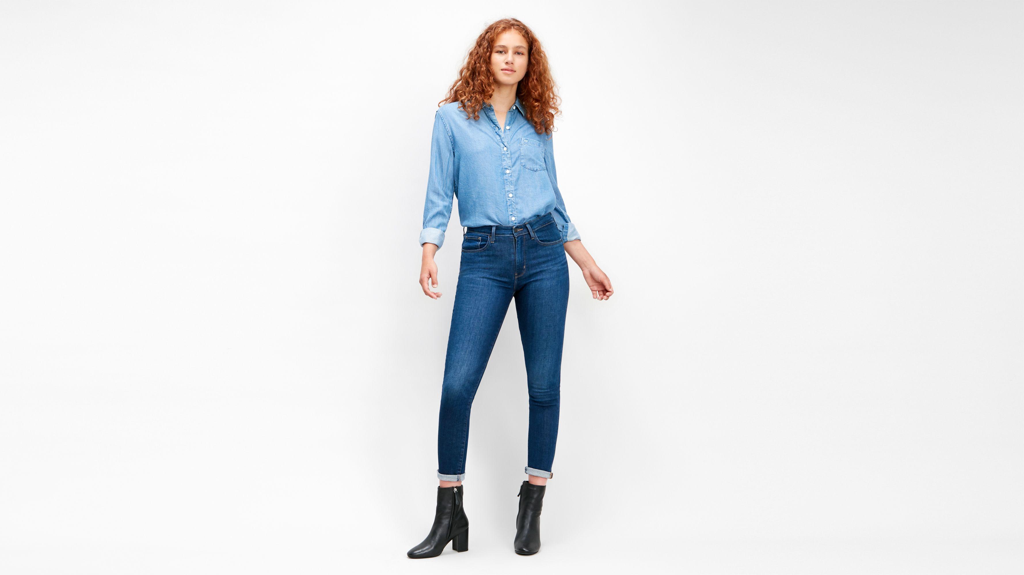 721™ High Rise Skinny Jeans Blauw | Levi's® NL