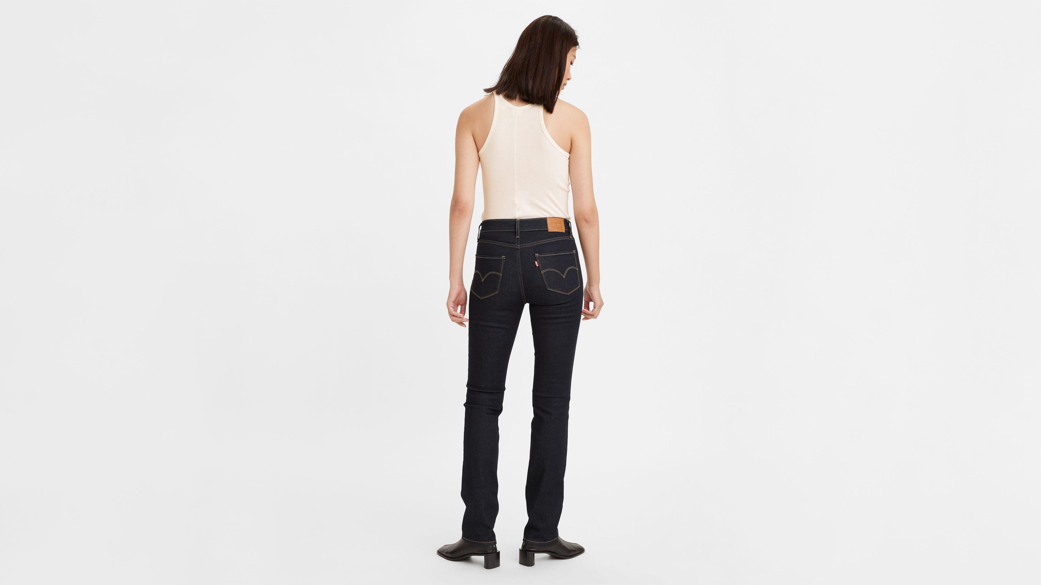 724™ High waisted Straight Jeans Bleu | Levi's® FR
