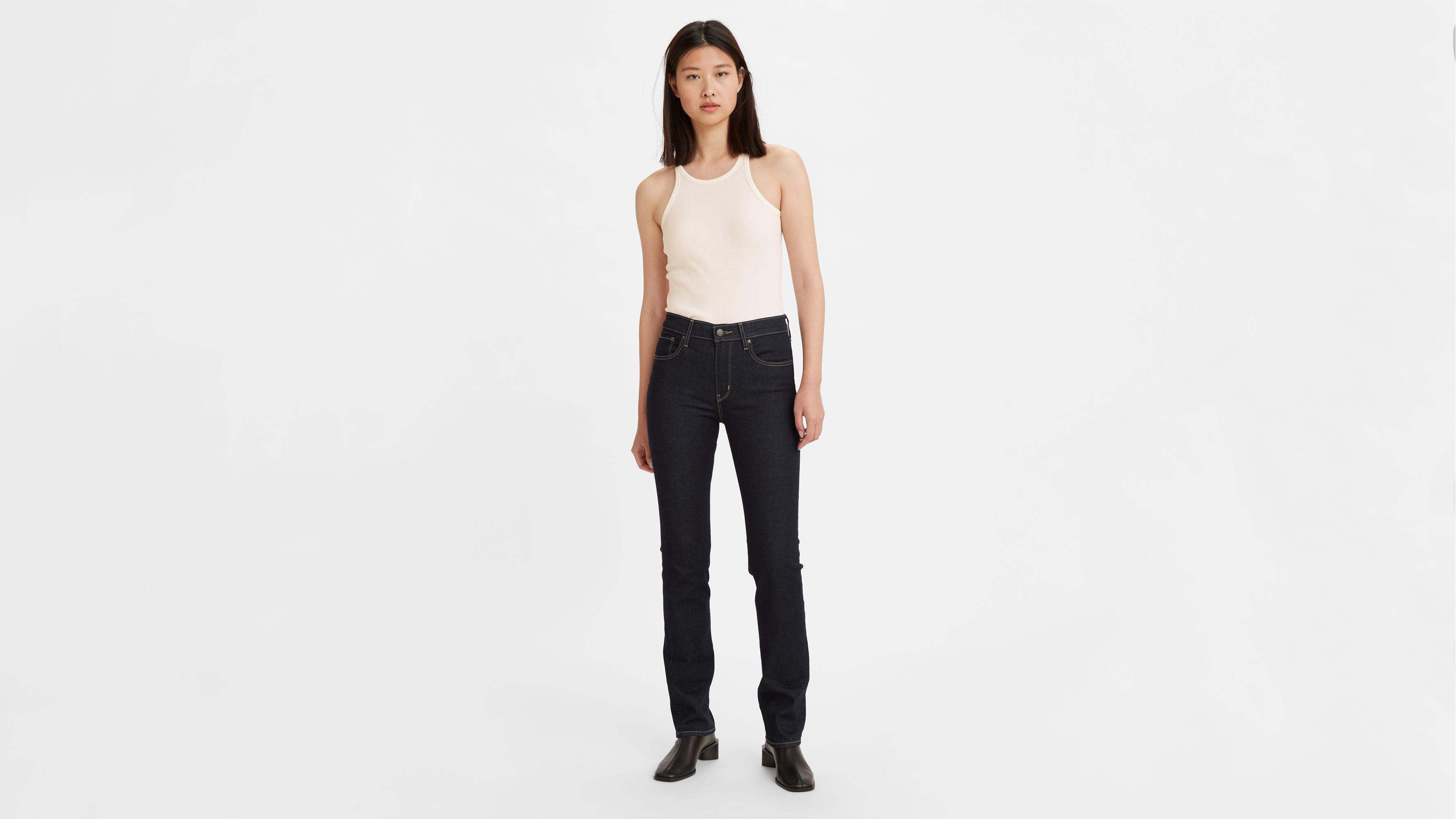 724™ High waisted Straight Jeans Blue | Levi's® FR