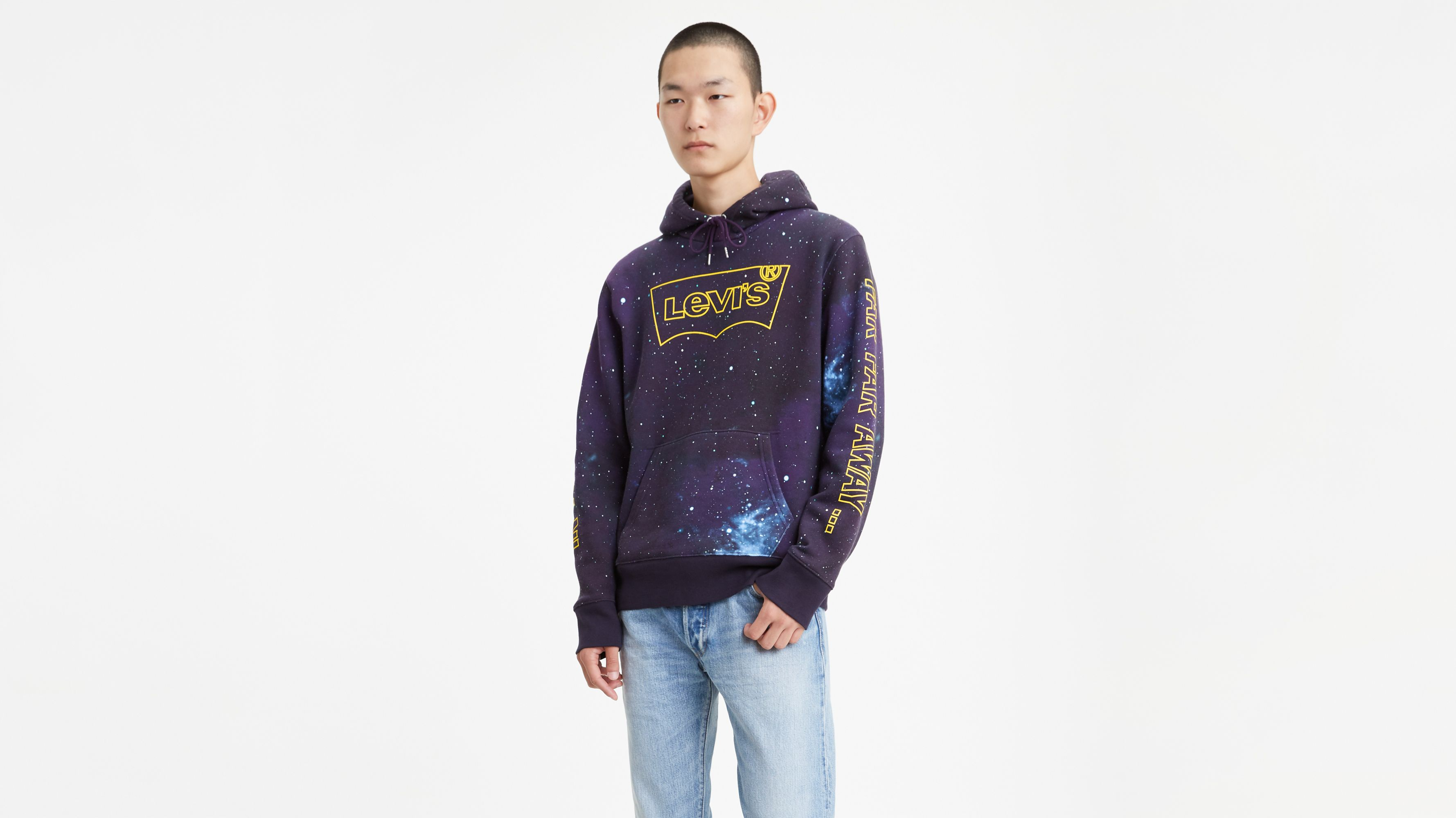 Levi's® X Star Wars Graphic Pullover Hoodie Black | Levi's® US
