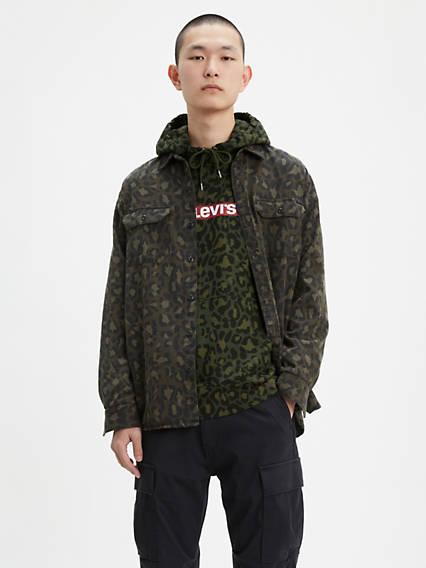 Bubble Leopard Jackson Worker Shirt