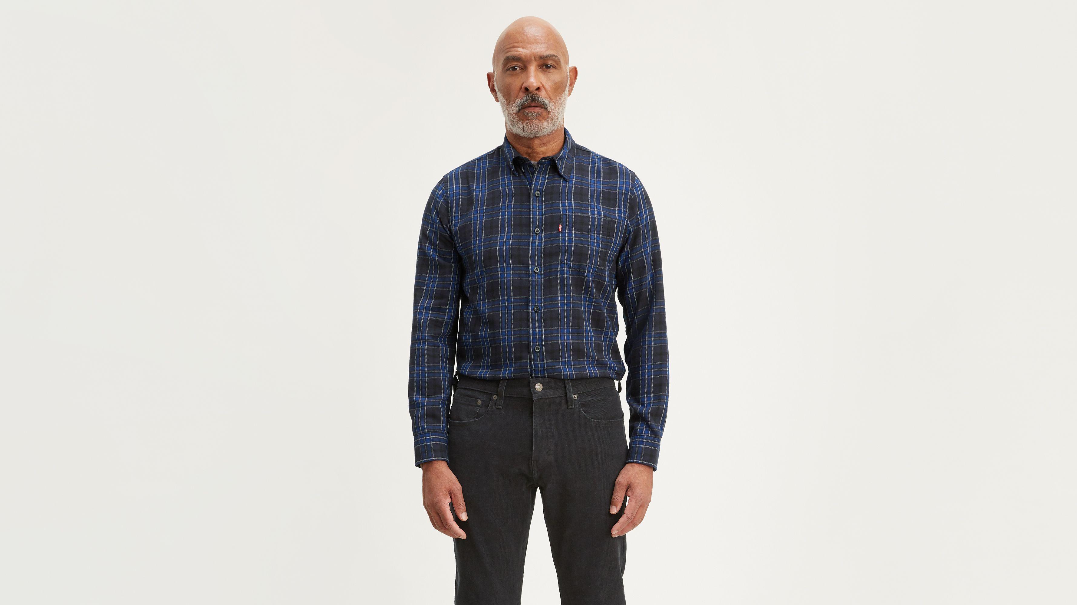 Classic Plaid One Pocket Shirt