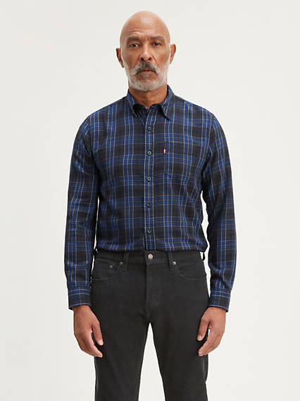 Classic Plaid One Pocket Shirt