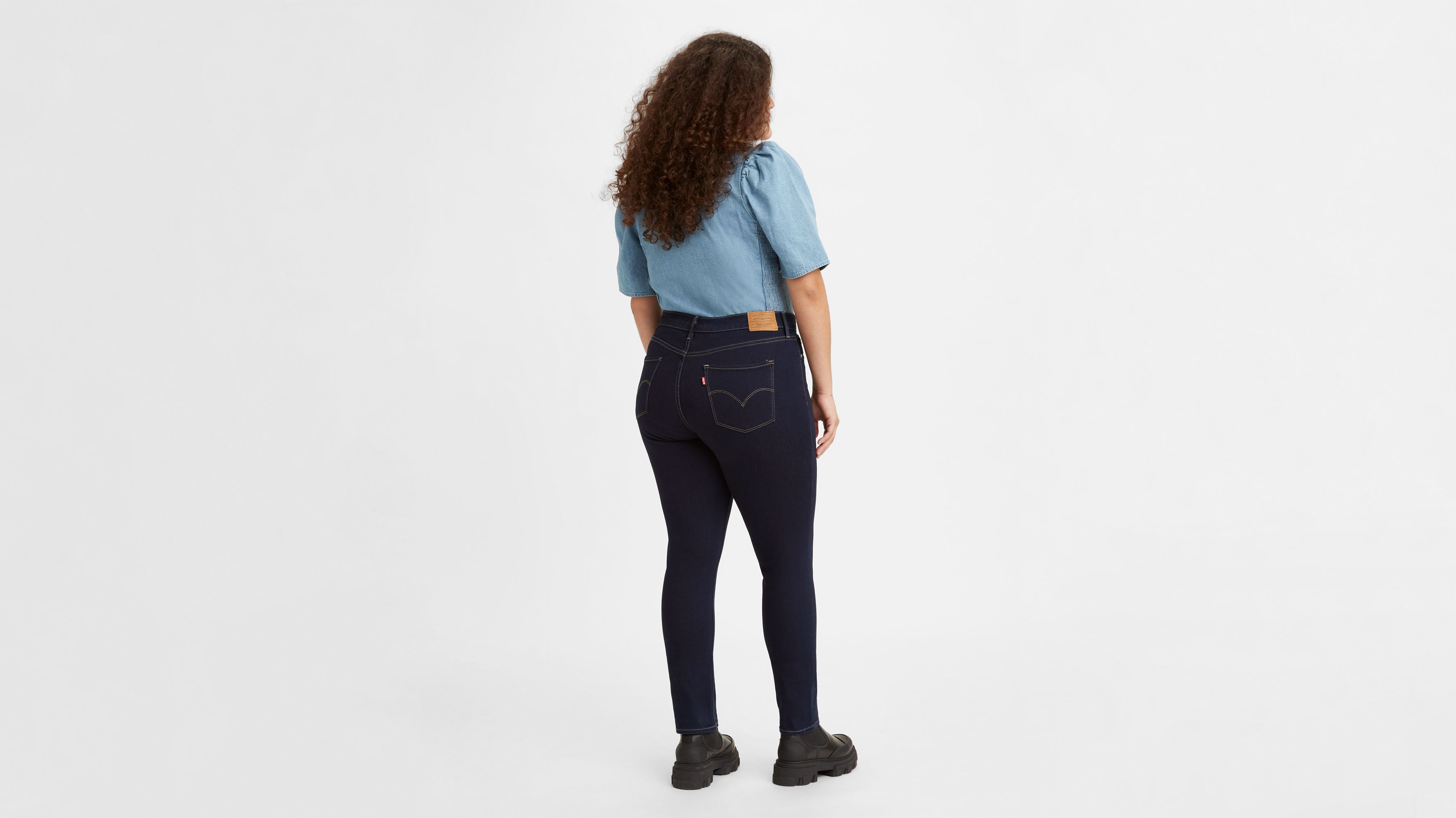 311™ Shaping Skinny Stretch Jeans Black | Levi's® NL