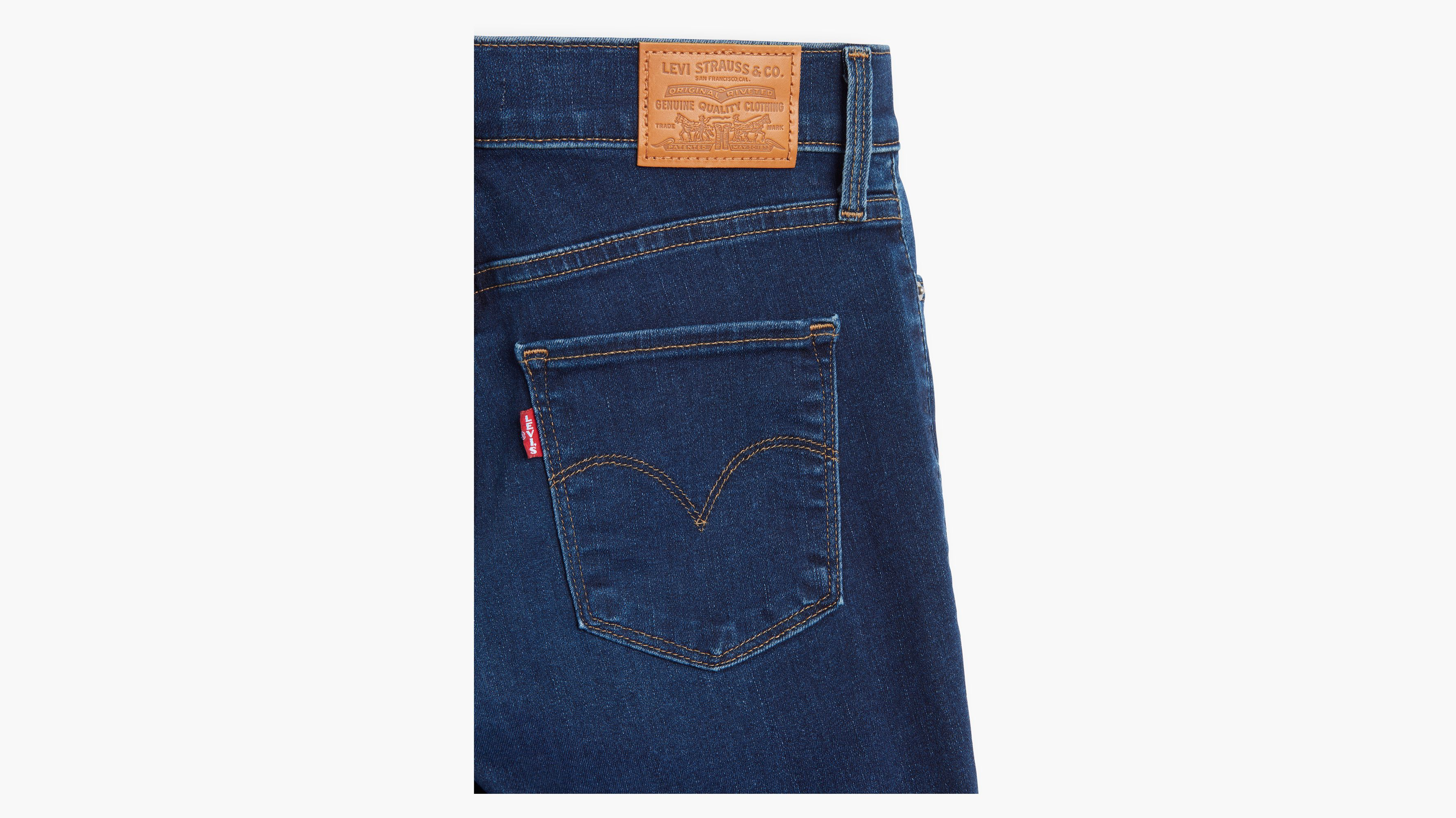 311™ Shaping Skinny Jeans Czarny | Levi's® PL