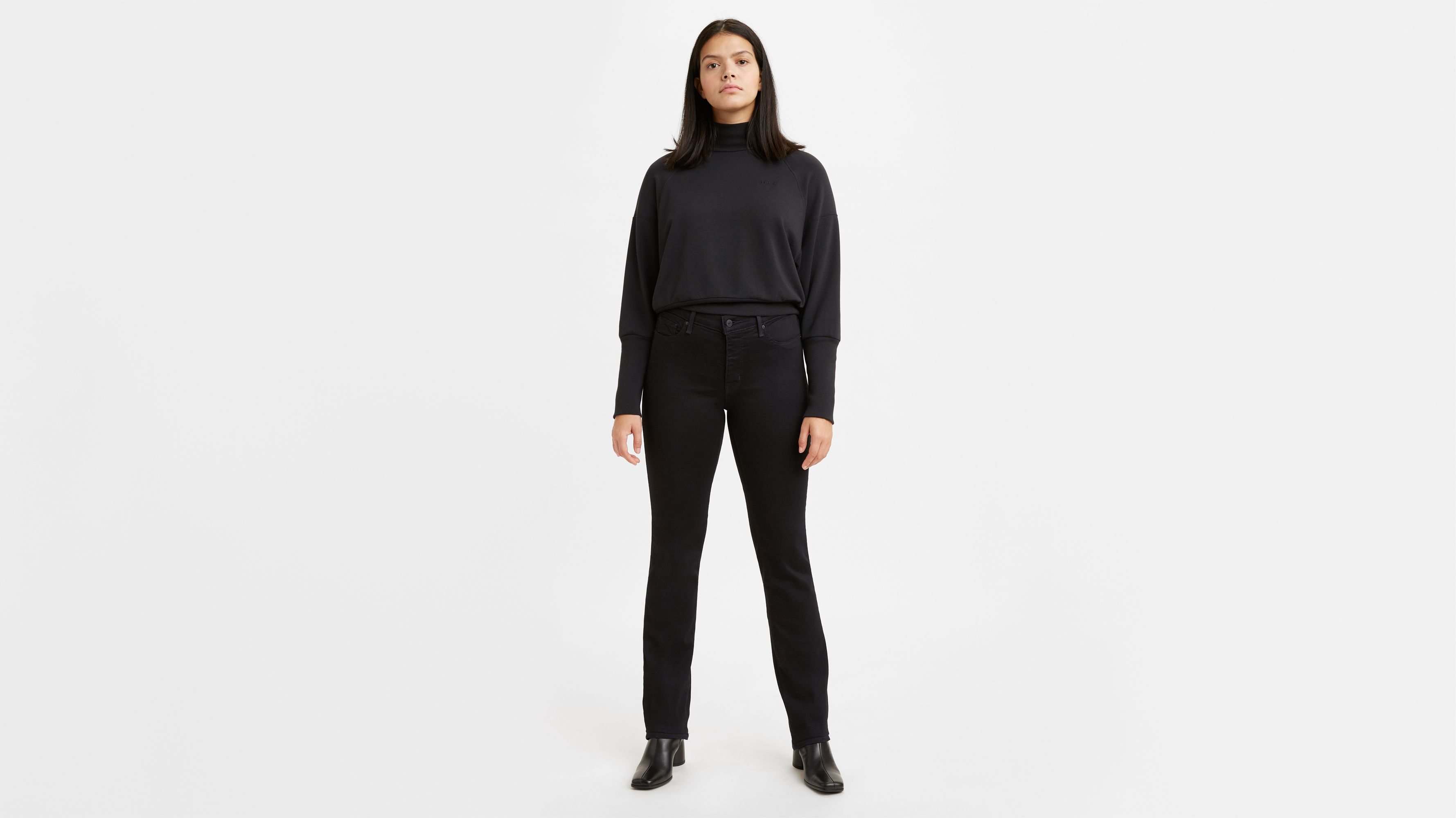 314 Shaping Straight Women's Jeans Black | Levi's® US