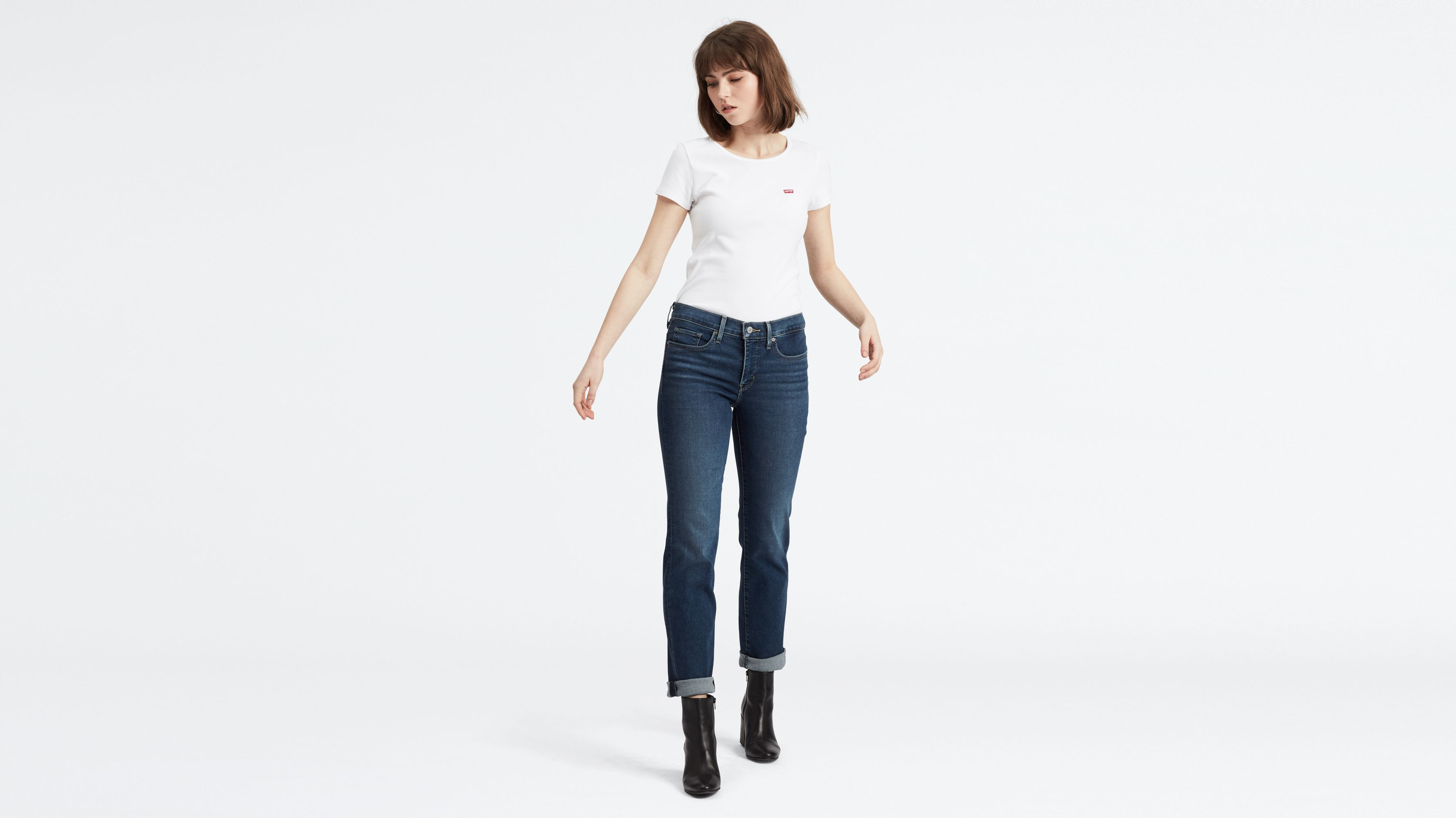 314�?Shaping Straight Jeans Bleu | Levi's® FR