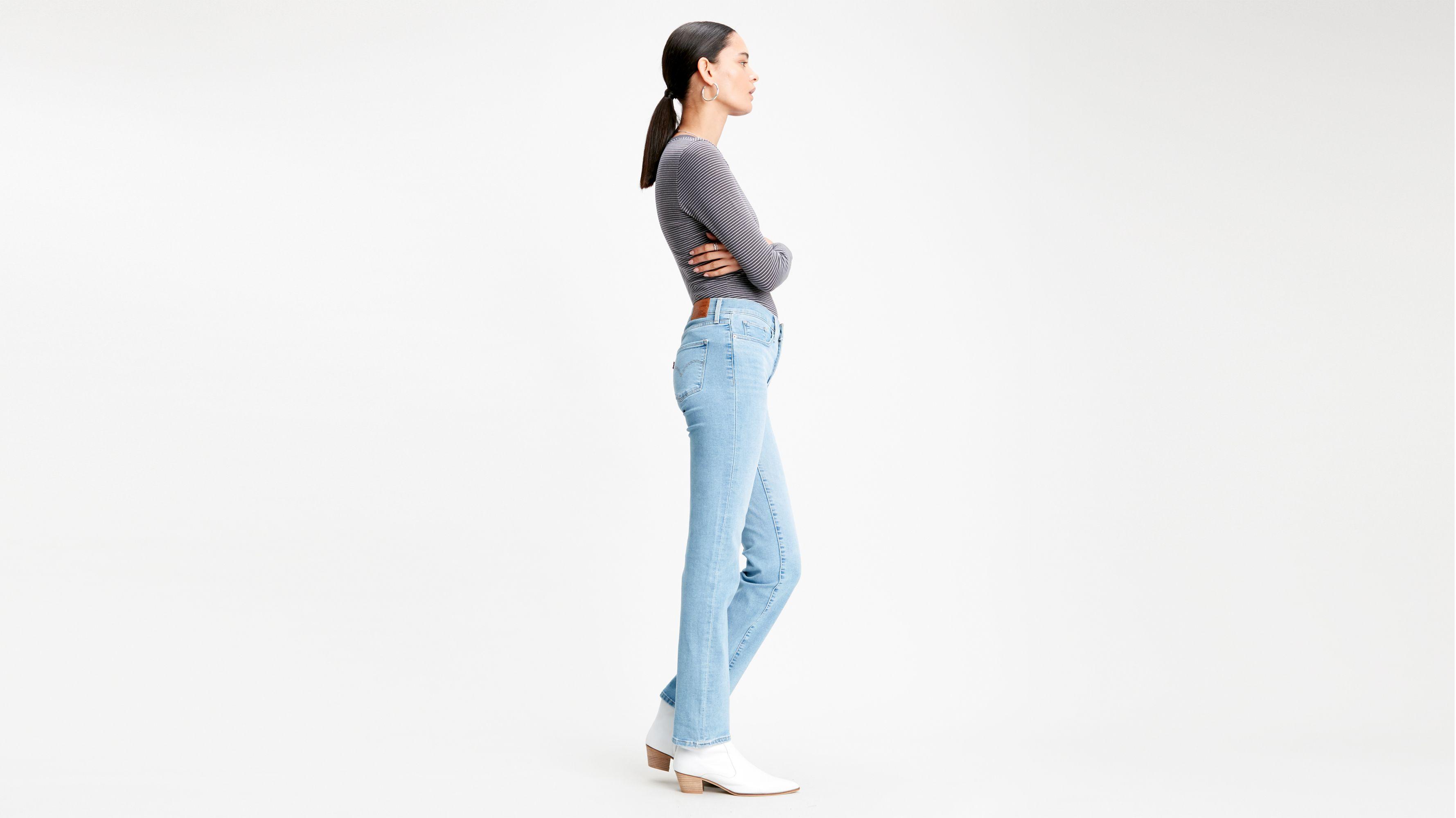 314™ Shaping Straight Jeans Niebieski   Levi's® PL