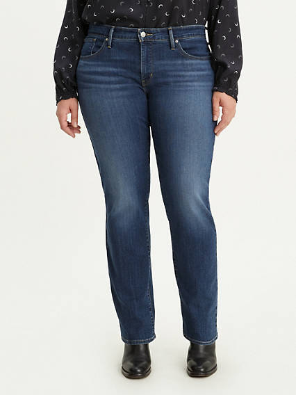 314 Shaping Straight Women's Jeans (Plus Size)