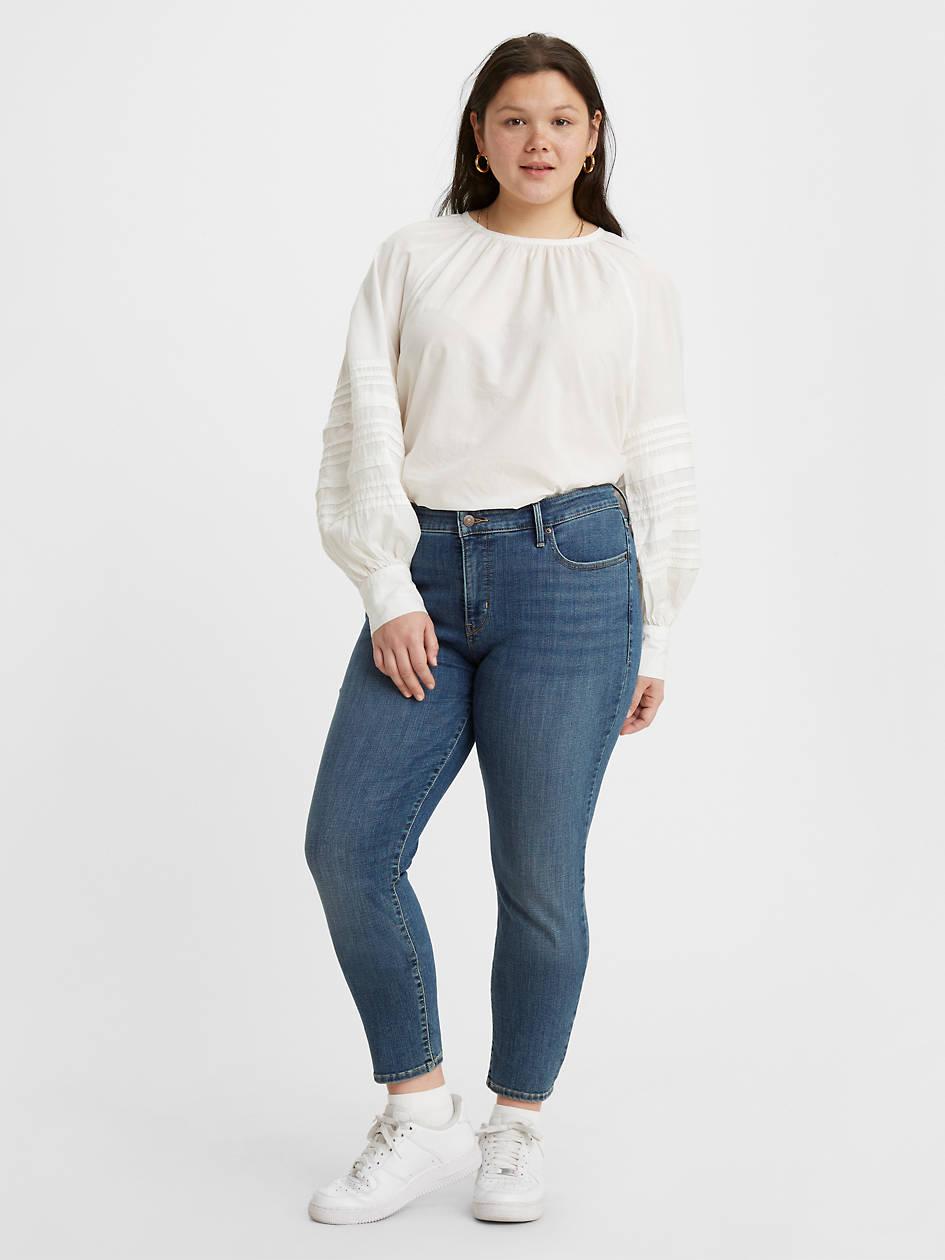 311 Shaping Skinny Women's Jeans (plus Size) - Medium Wash | Levi's® US