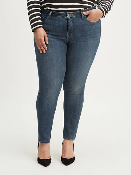 310 Shaping Super Skinny Women's Jeans (Plus Size)