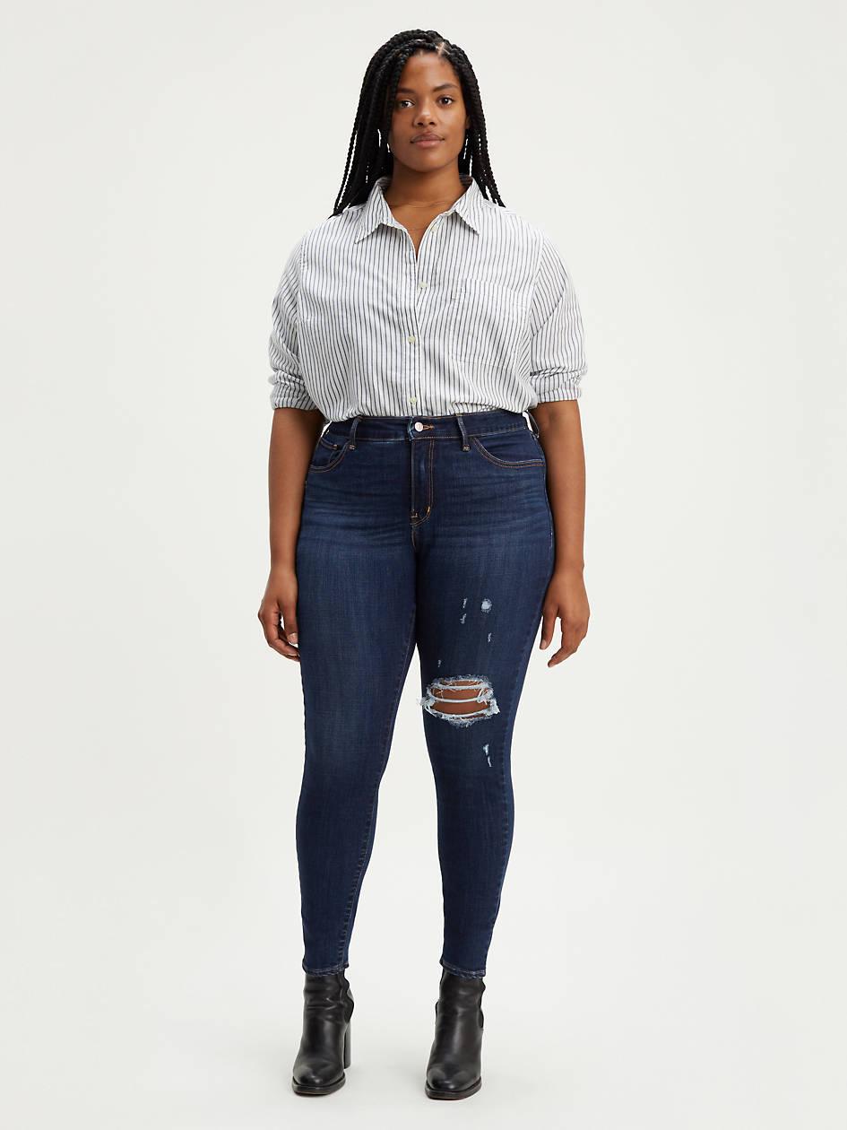 310 Shaping Super Skinny Women's Jeans (plus Size) - Dark Wash   Levi's® US