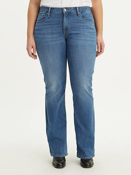 315 Shaping Boot Cut Women's Jeans (Plus Size)