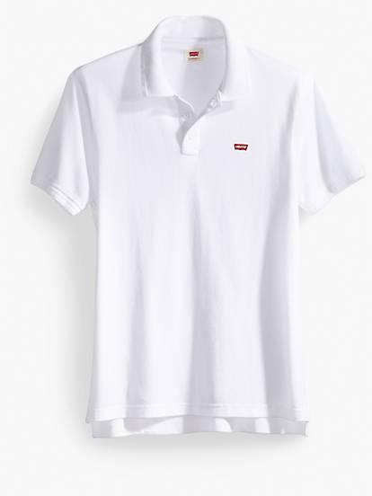 Levi S Chest Logo Polo Shirt White