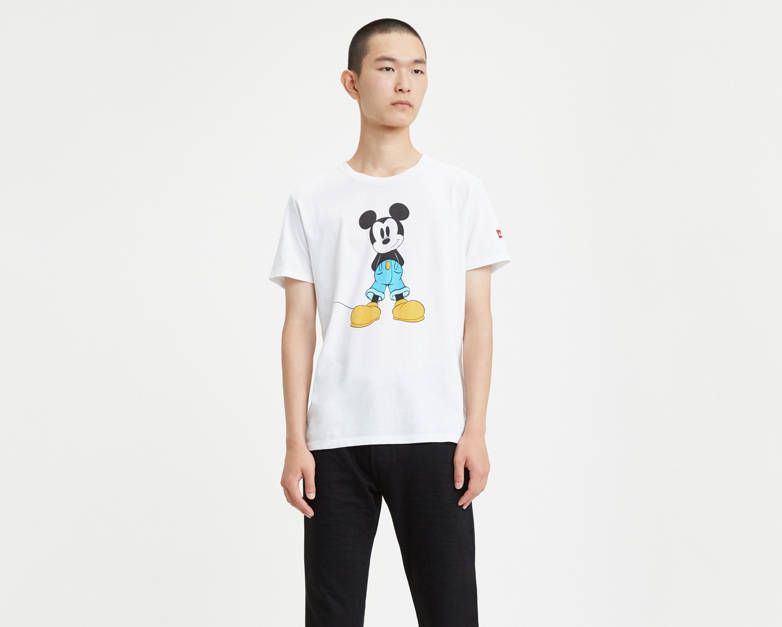 Levi's® X Disney Mickey Mouse Graphic Tee Shirt by Levi's