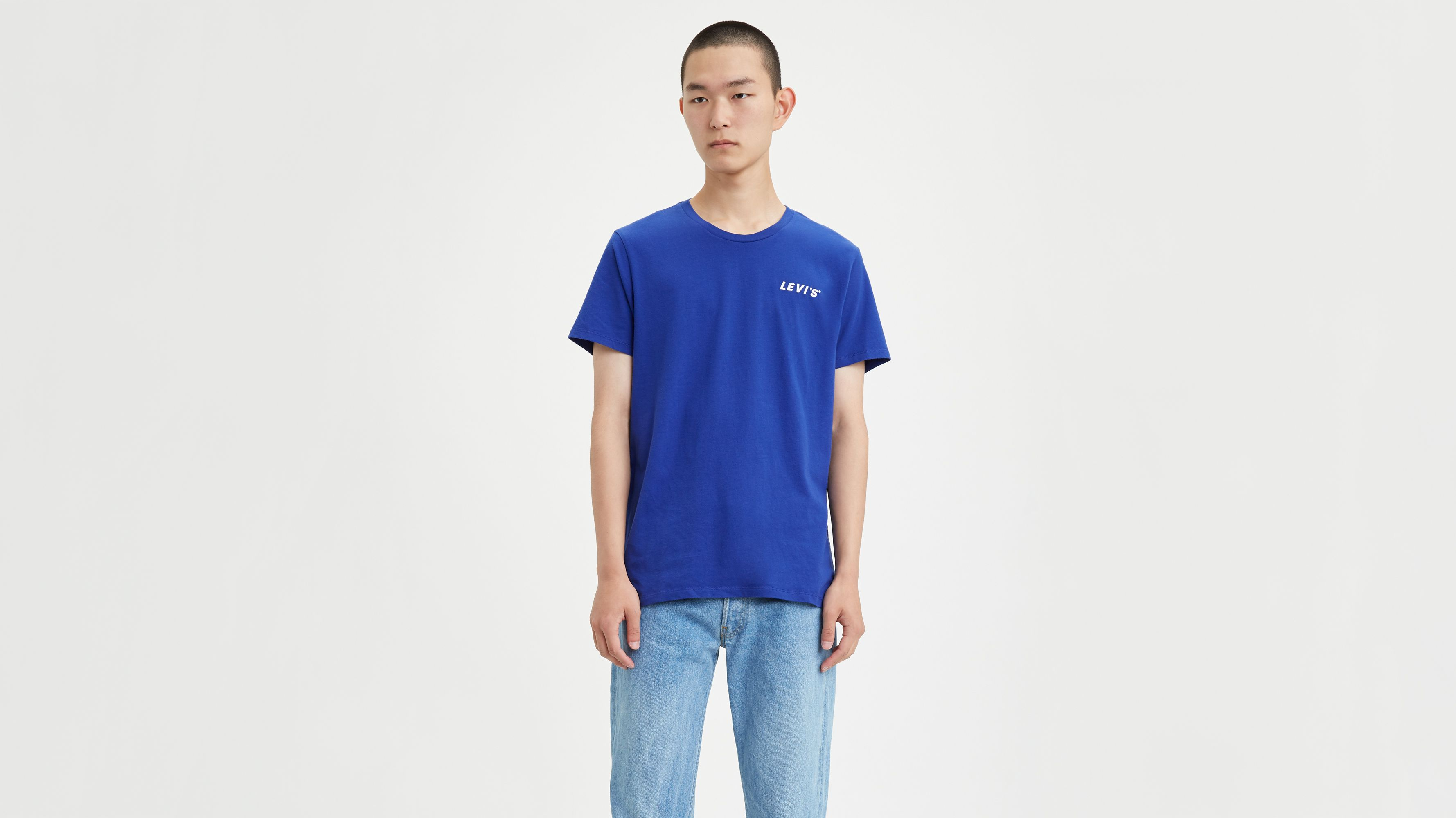 Levi2019s00ae Chest Patch Logo Tee Shirt