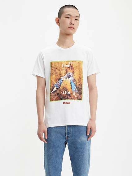 Field Photo Graphic Tee Shirt