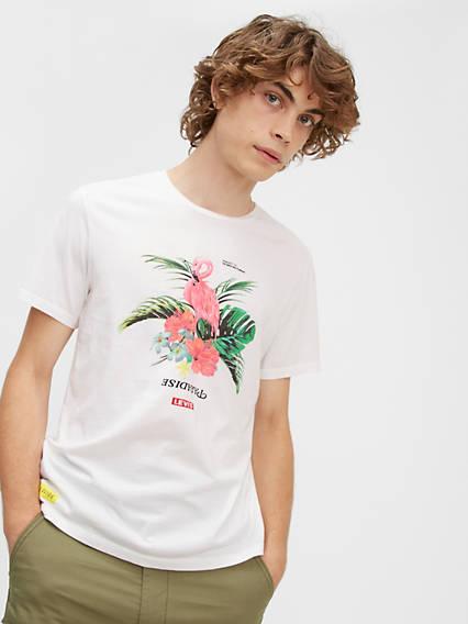 T-shirt graphique classique