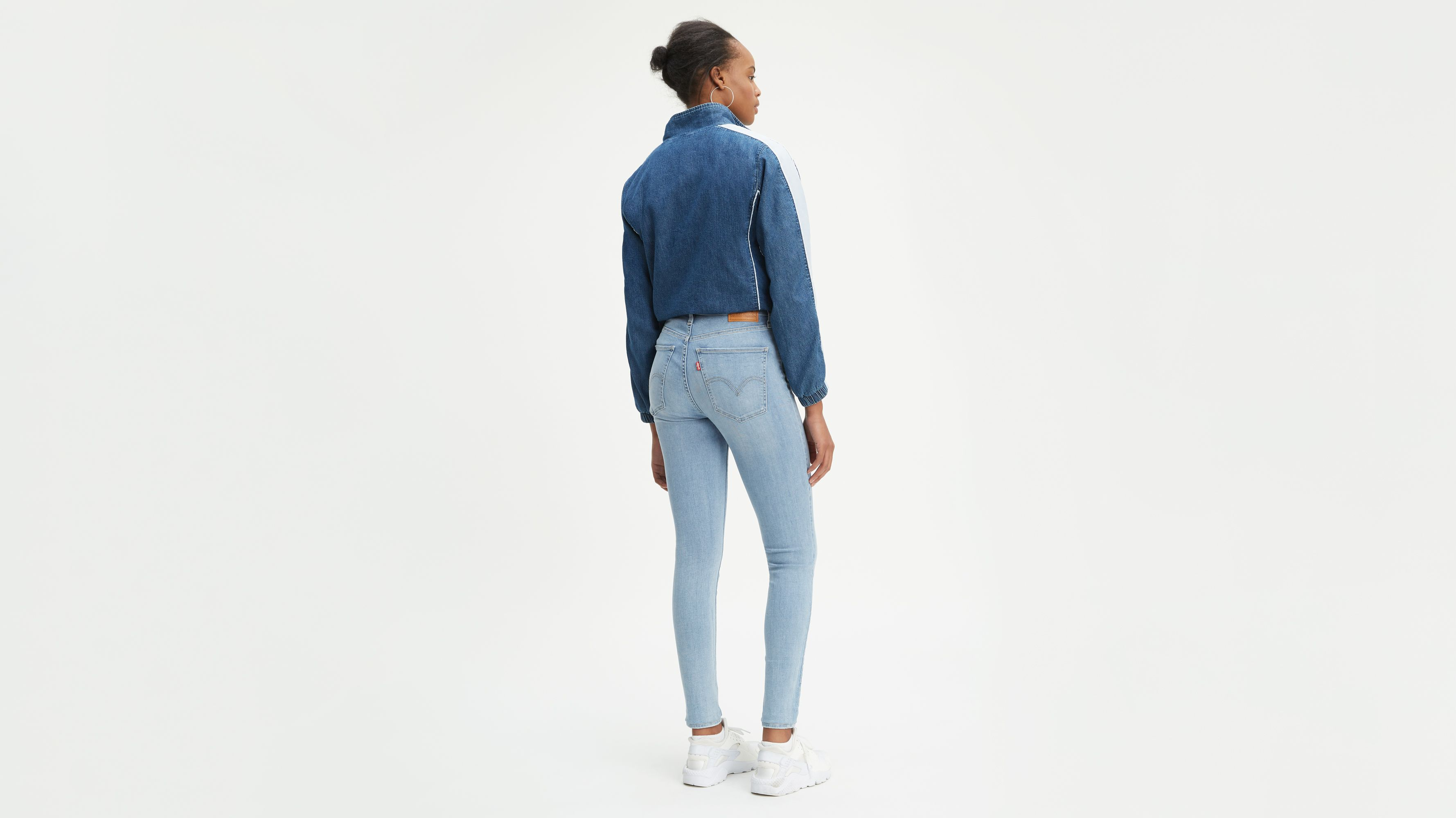 Mile High Super Skinny Jeans Blauw | Levi's® NL
