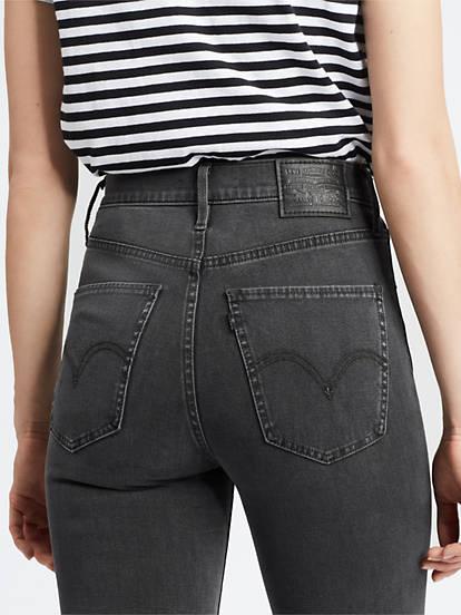 feinste Auswahl 5b0dc 3e290 Mile High Super Skinny Jeans - Grau | Levi's® DE