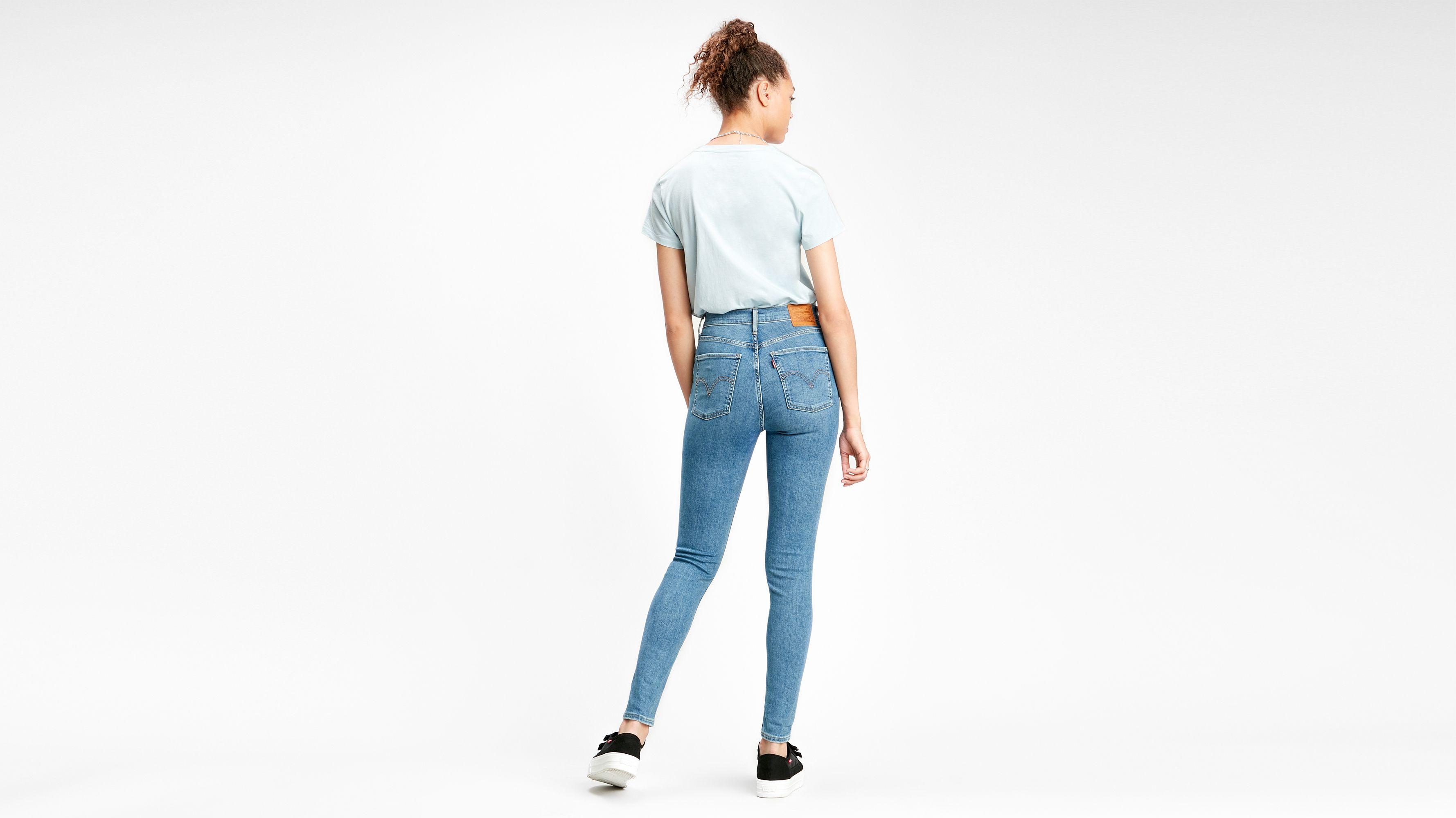 Mile High Super Skinny Jeans Bleu | Levi's® FR