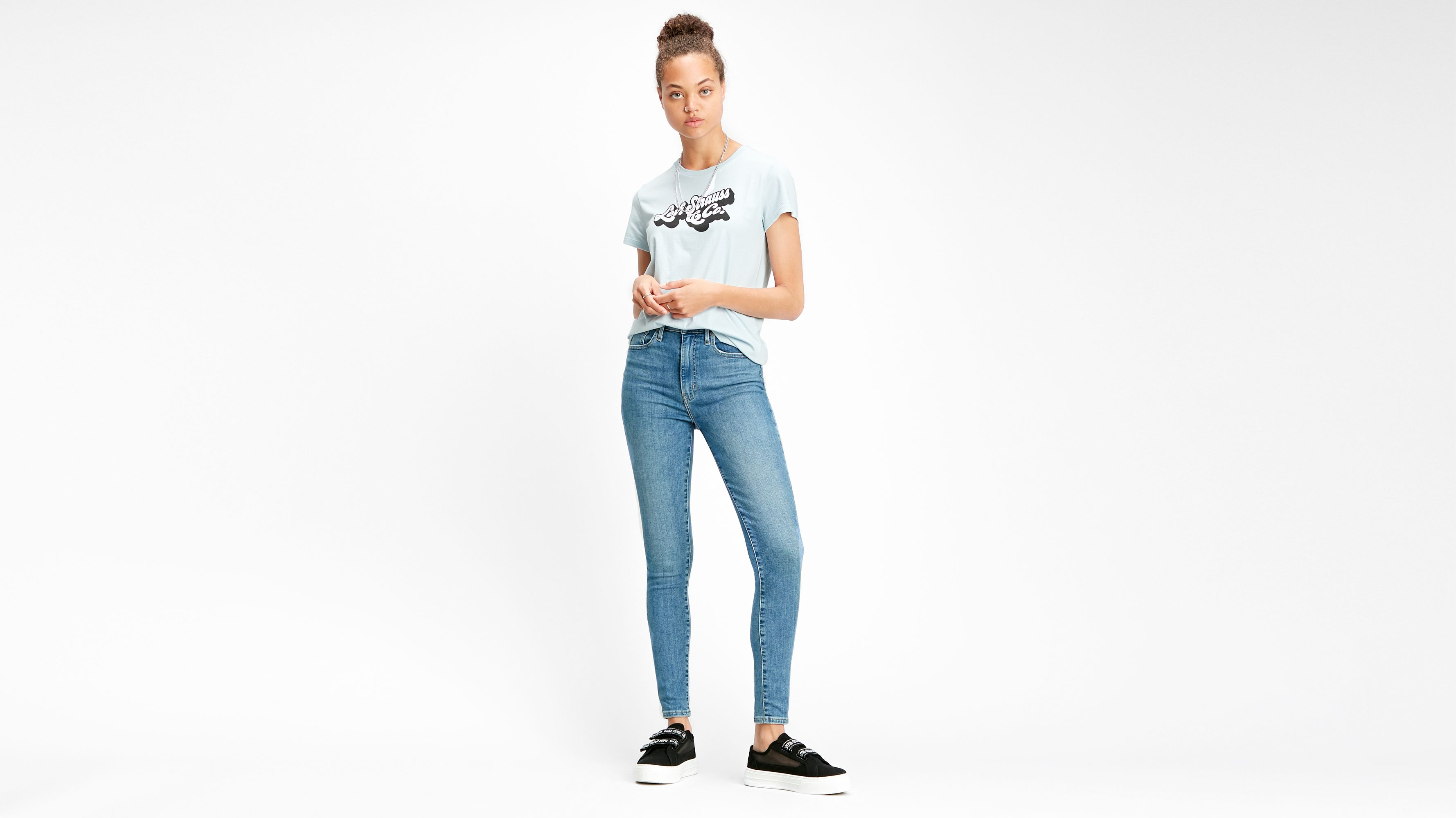 Baggy Women's Jeans Light Wash | Levi's® US in 2020 | High