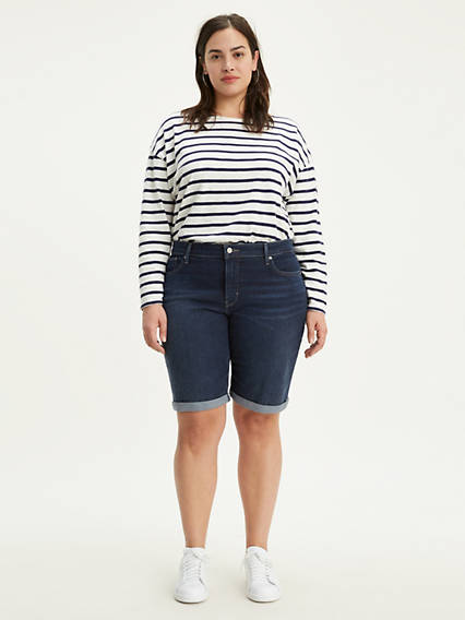 Shaping Bermuda (Plus Size)