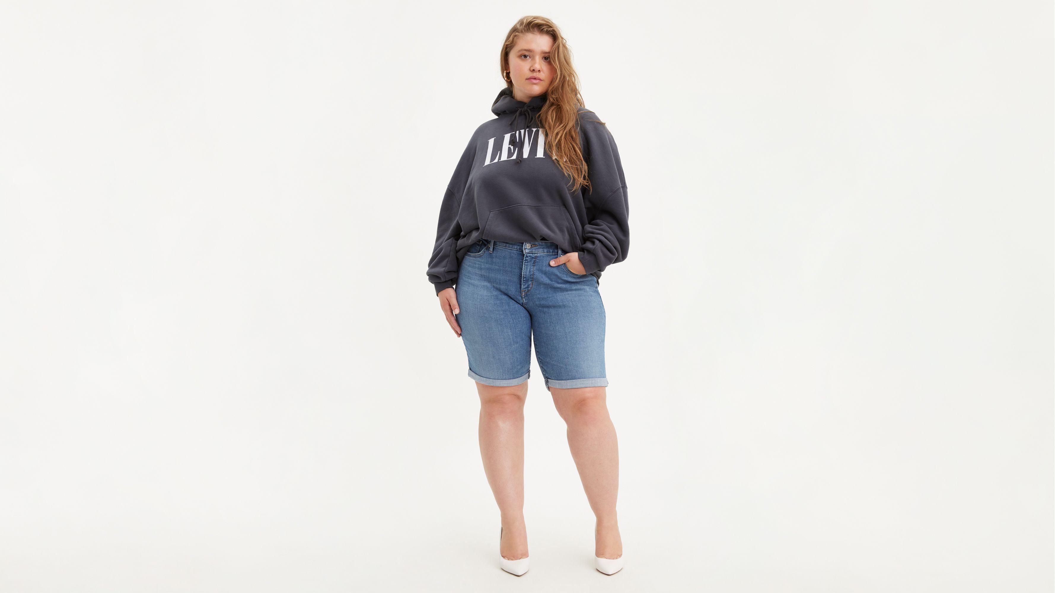 Shaping Bermuda Womens Shorts (Plus Size)
