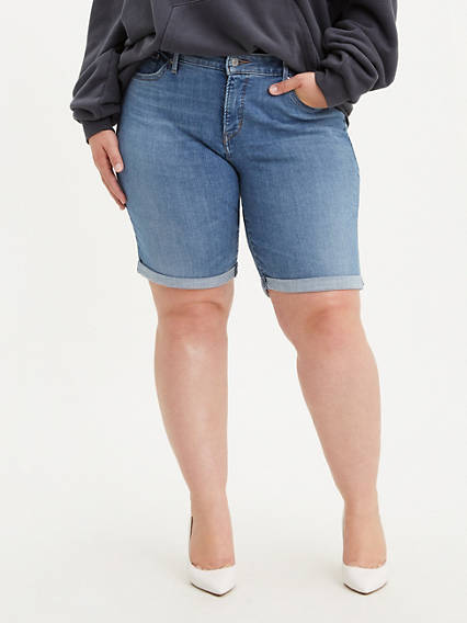 Shaping Bermuda Shorts (Plus Size)