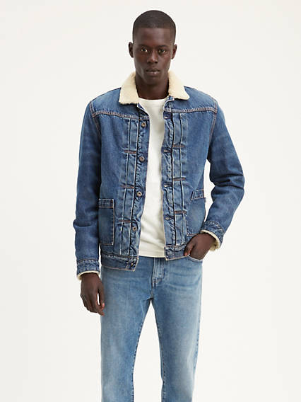 Levi's® Made & Crafted® Type Ii Sherpa Truck