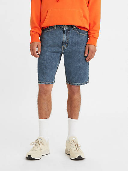 jean shorts on guys
