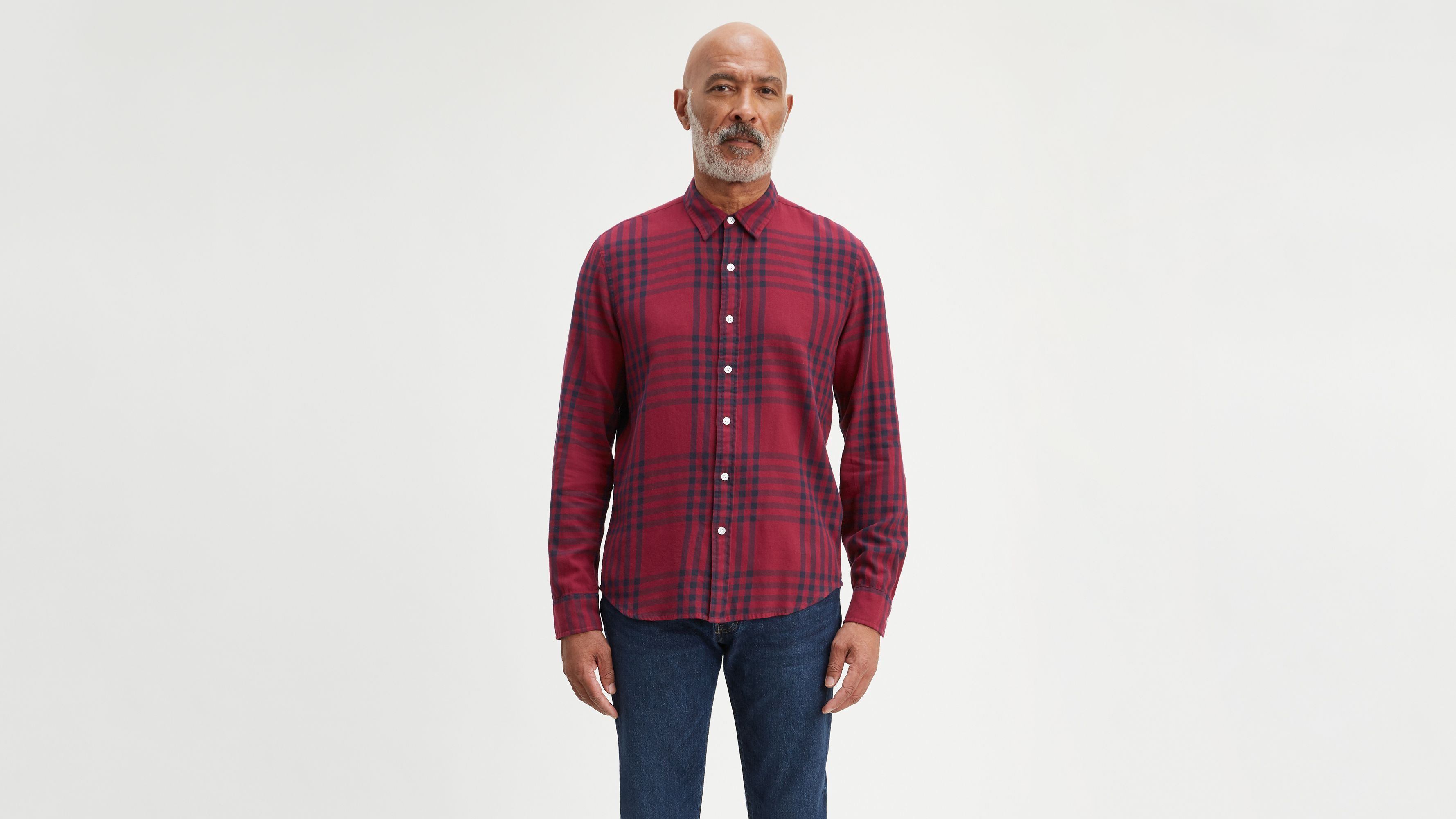 Classic Plaid No Pocket Shirt