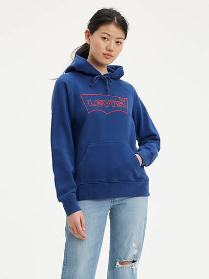 Levi's® Outline Logo Sport Hoodie