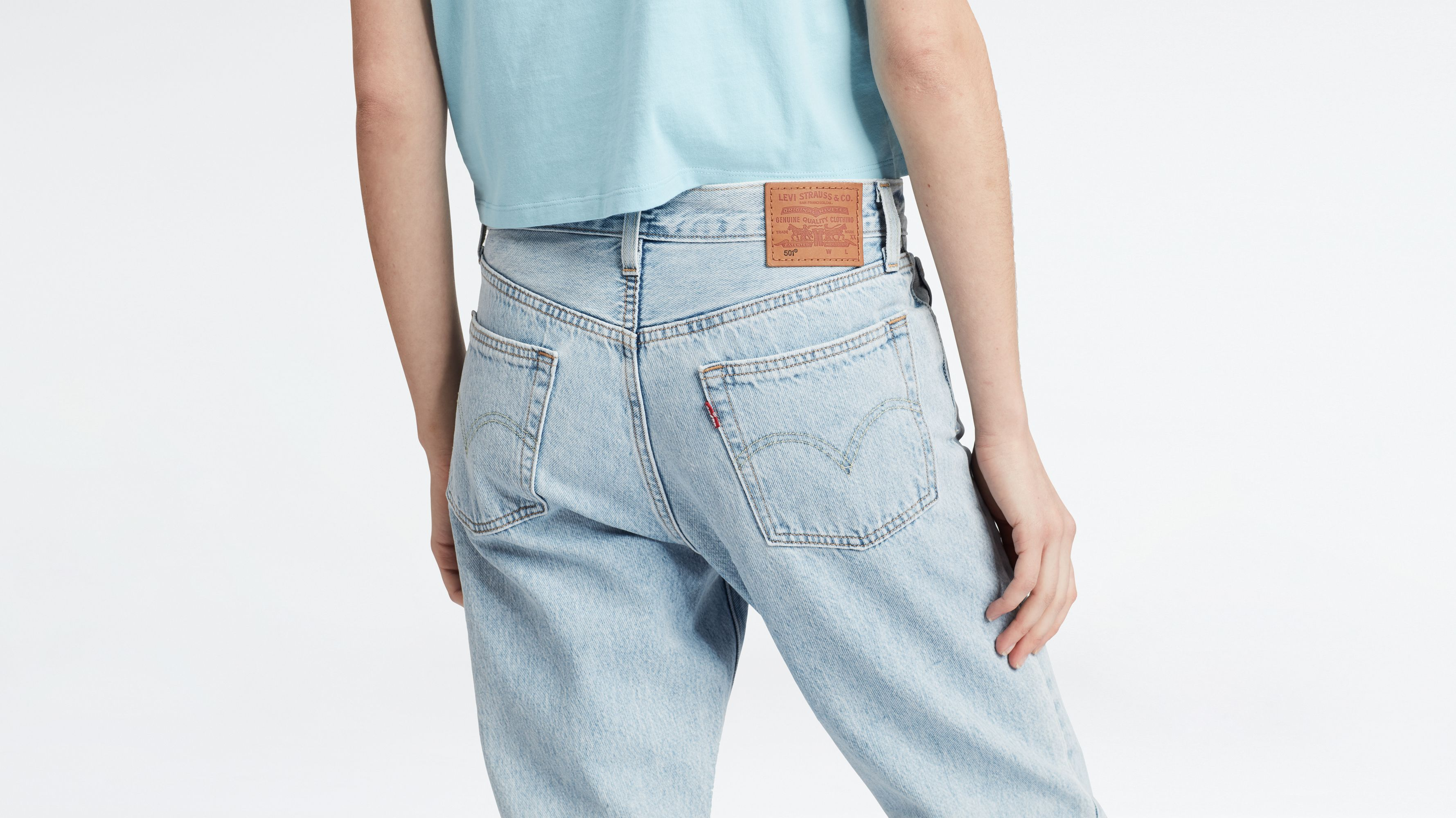 Levis 501 ct jeans price in, Levi's® Straight Leg Jeans