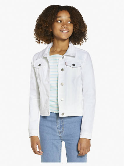 Big Girls S-XL Trucker Jacket