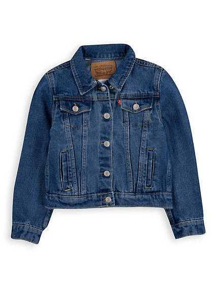 Baby Girls Trucker Jacket